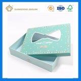 Cartón rígido de lujo Handmaded Caja de regalo (con la ventana de PVC)