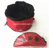 De Kommen van de Reis van de Hond van Hotselling/Kom van de Hondevoer van het Product van het Huisdier de Nylon