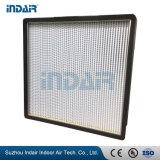 Воздушный фильтр HEPA с 0,3 мкм HVAC из стекловолокна