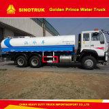 20 Kubikmeter Sinotruk goldener Becken-LKW des Prinz-Wasser