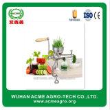 De hand Klein Groente en Fruit Juicer van het Roestvrij staal voor Verkoop
