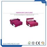 Hauptder möbel-drei Gewebe-Polsterung-Schlafensofa-Bett Sitzsofa-des Einteiler-MOQ durchheftendes