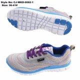 Malha de venda quente mulheres Tênis Calçado de desporto de Ar