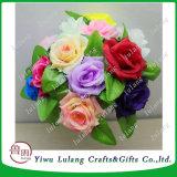 Decorazione della Tabella di cerimonia nuziale della casa del mazzo del fiore della Rosa della flanella di simulazione del lotto