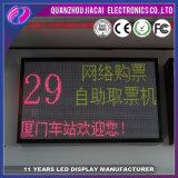 P7.62 SMD de interior se doblan pantalla de visualización de LED del color