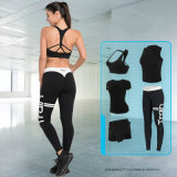 5PCS/Set熱い販売のヨーロッパアメリカの体操の適性の試しのスーツの衣類