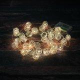 LED de bola prateada Luz decorativa (26-1F1723)