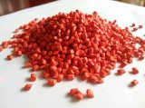 Gummi-PP/PE Plastik bereitet rote Masterbatch Körnchen auf