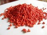 O plástico de borracha de PP/PE recicl grânulo vermelhos de Masterbatch