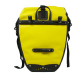 Sac imperméable à l'eau jaune de bicyclette de Roswheel pour le Pannier de déplacement de vélo de sac de Pannier de vélo de bicyclette
