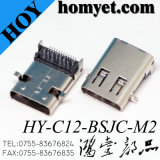 높은 Quality Type C USB Connector 3.1USB Female Right Angle SMT USB Connector