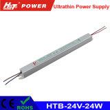 alimentazione elettrica ultrasottile di 24V 1A LED con le Htb-Serie di RoHS del Ce