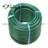 PVC renforcé de fibre Flexible tressé de jardin d'eau flexible d'irrigation