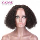 Capelli umani brasiliani ricci malesi della breve Bob parrucca del merletto di Yvonne