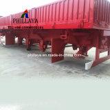 3 LKW-Sattelschlepper-Transport-Behälter-Ladung-Schlussteil der Wellen-seitlichen Wand-entfernbarer 40FT