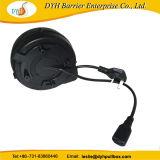 Мода выдвигаемая прочного UK стандартный разъем 220V кабель шнур складной мотовила