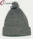 100% полиакрил Beanie /трикотажные Red Hat с вышивкой и пользовательские тканого этикетки