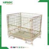 Recipiente de fio de Carga Pesada da gaiola de armazenamento de malha