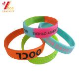 Qualidade da Pulseira de silicone de alta personalizado, a tira de borracha para presente de promoção de decoração (YB-WT-5)
