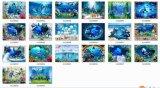 Azulejos de cerámica del azulejo de suelo del diseño interior 3D en Canadá (G12180006)