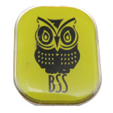 Distintivo di Pin del risvolto di marchio della tigre di stampa del metallo con epossidico