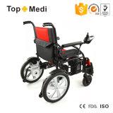 신체 장애자를 위한 2017의 최신 판매 의료 기기 전기 접히는 힘 휠체어 가격