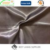 100% Polyester doux 100d*100d Micro Twill Doublure de manteau de doublure de veston sac