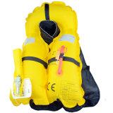 Veste de vida inflável de Auto&Manual para a pesca de mar