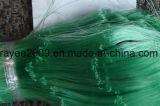 Темно - зеленая рыболовная сеть нейлона удя снасти моноволокна