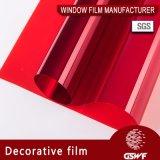 Окно фильм потрясающие цвета декоративной пленкой различных приложений