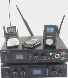 耳マルチチャネルのモニタリングのマイクロフォンシステムのUHFの無線電信