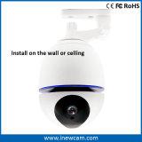 De draadloze Camera Op batterijen van de Veiligheid van het Huis 1080P met het Auto Volgen van 360 Graad