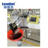 Impresión grande de la fecha del equipo de impresión de los carácteres de Leadjet A100 en la bolsa de plástico