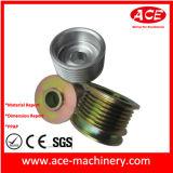 CNC que estampa el rectángulo de la electrónica del metal de hoja