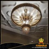 Канделябр декоративной нержавеющей стали проекта гостиницы кристаллический (KA777-D920)