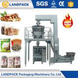 フルオートマチックの米の豆のくだらないヒマワリの豆のポップコーンはパッキング機械を欠く