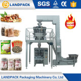Fill AUTOMATIC Weighing Small Candy Rice Beans groove Sunflower Seed Popcorn chip Packing Machine