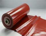 0.40 millimetri dell'anti di Grey d'argento lato statico di resistenza termica singolo del silicone di tessuto rivestito della vetroresina