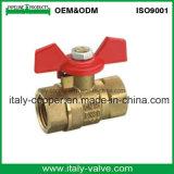 Kogelklep van de Vlinder van de hoge druk de Messing Gesmede (AV1052)