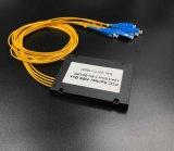 Gpon de telecomunicaciones de fibra de color 1X4 PLC Splitter Systems