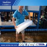 Máquinas de Shenzhen 20t da poupança de energia do Recipiente do bloco de gelo máquina de gelo