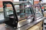 팬을%s 가진 Sdessert 전시 냉장고를 위한 테이블 내각은 냉각 장치 케이크 진열장을 지원했다