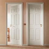 Porte en bois intérieure avec portes en bois en verre/en verre