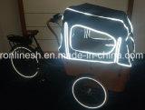 8fun basural Bakfietsen eléctrico del motor/carga E Bicicleta triciclo de carga/familia/3 rueda de bicicleta de Carga/Carga Bakfietsen/Pedelec para llevar a los niños/Entrega 7sp Nexus
