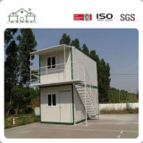 Huis van de Container van het Huis van de Onroerende goederen van de bouw Het Moderne Beknopte Prefab