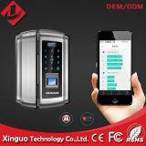 Bloqueio de impressões digitais domésticos inteligente para porta de vidro