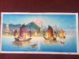 Het Olieverfschilderij van het Zeegezicht van het Decor van de Kunst van de muur op Canvas voor Woonkamer