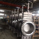API 6D 150lbsの鋳造物鋼鉄ガスの平らなゲート弁