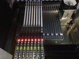 Seleção de luz LED e coloque a máquina
