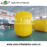 Inflatable Buoys, Cylinder Shape for Toilets Advertizing Triathlons